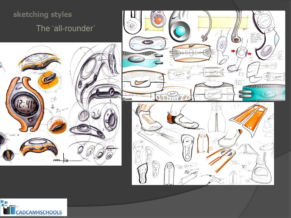 sketching styles The 'all-rounder'