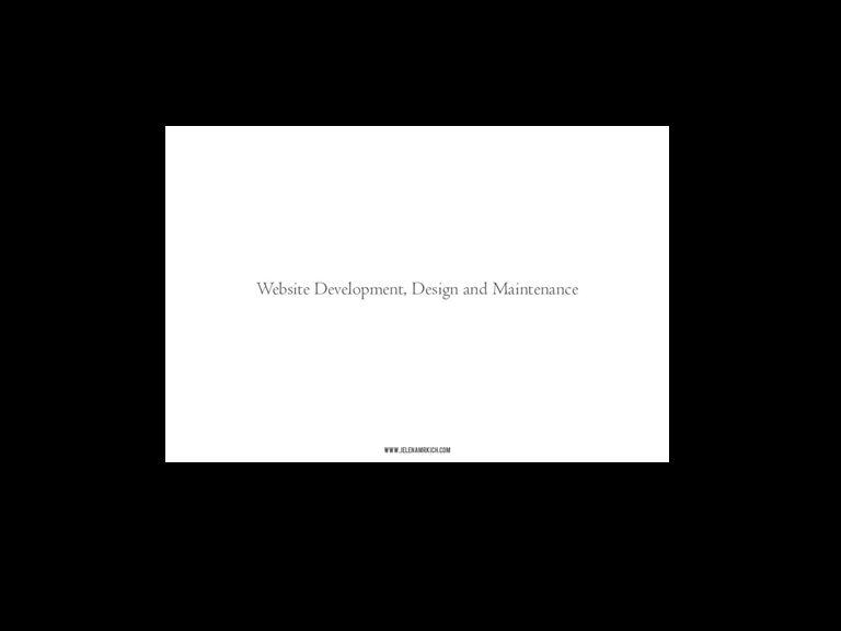 Client: Dana Mrkich | Site: www.danamrkich.com Project: Web development, design and maintenance.