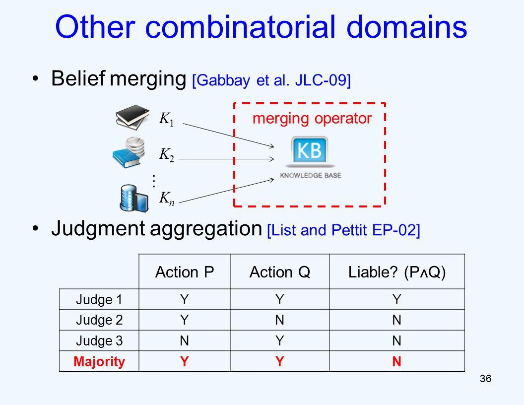 Belief merging [Gabbay et al.