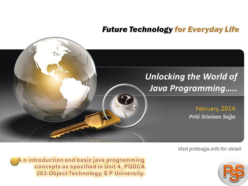1 pritisajja.info Unlocking the World of Java Programming…..