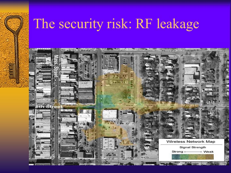 The security risk: RF leakage