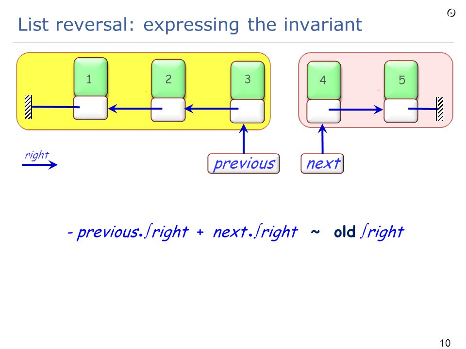 Sequence closure  b denotes the sequence of objects Current, b, b b, b b b, … stopping at the first from which the a link either is void or leads to an object already encountered Generalization: if p is a path, p  b denotes the sequence p, p b, p b b, p b b b, … right  right right 106