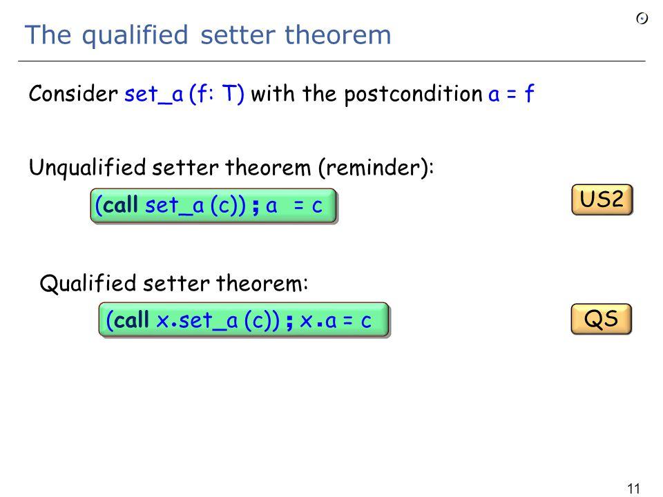 Assignment and sequence closure (2) Theorem: (x := e) ;  x = + e  x Proof: apply successively  The closure theorem:  x = + x  x  Distributivity  The Current theorem : (x := e) ; =  The preceding theorem: (x := e) ; x  x = e  x AS2 CUR CD SC1 AS1 112