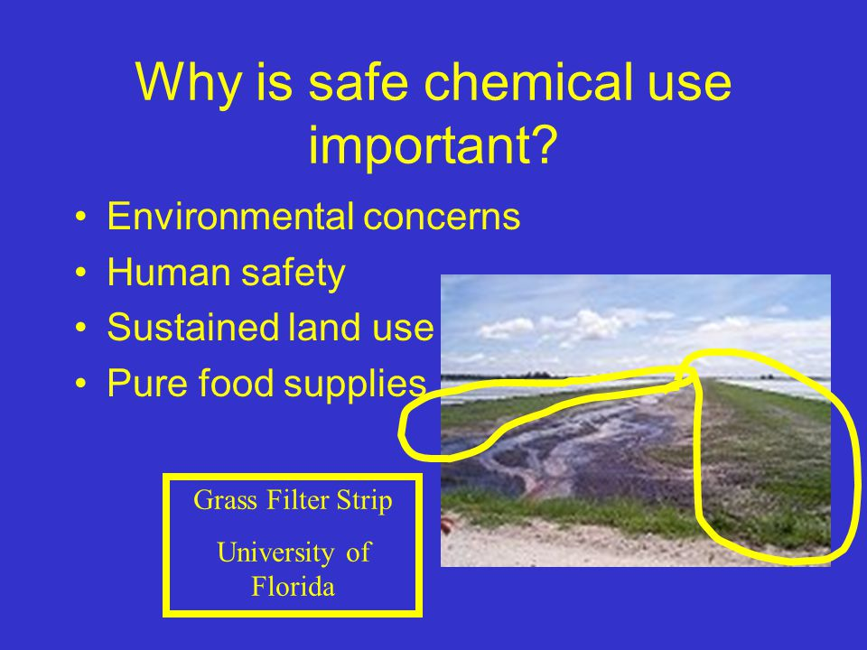 Why is safe chemical use important.
