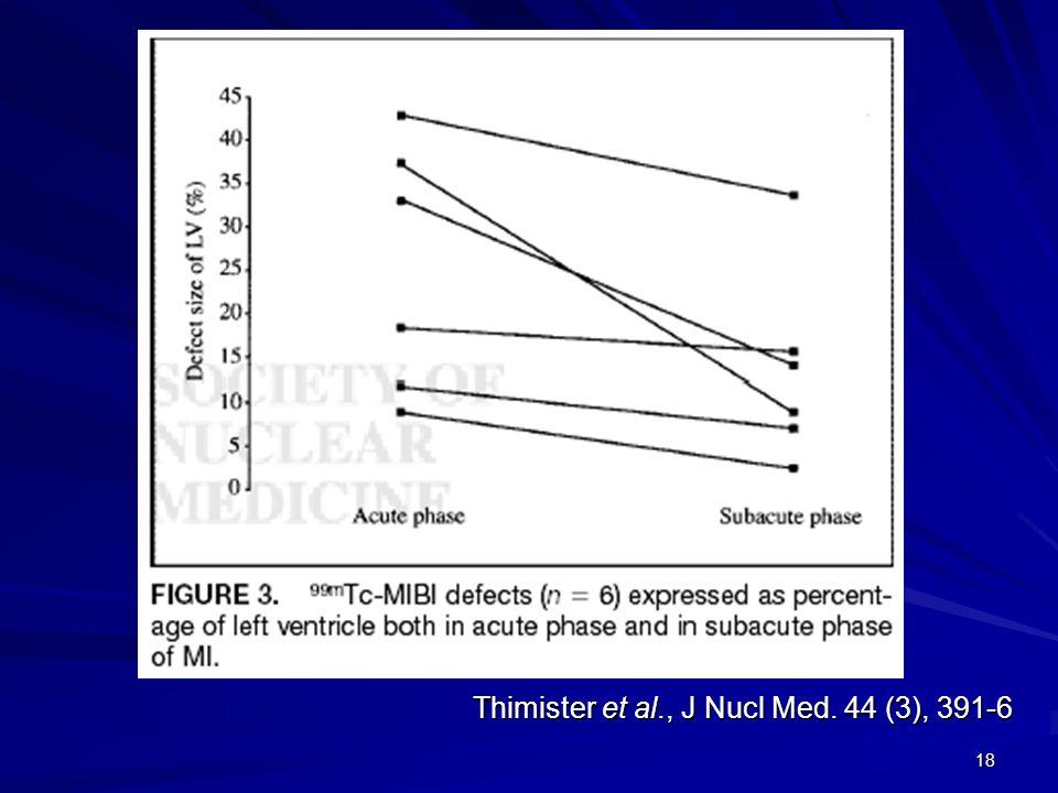 18 Thimister et al., J Nucl Med. 44 (3), 391-6