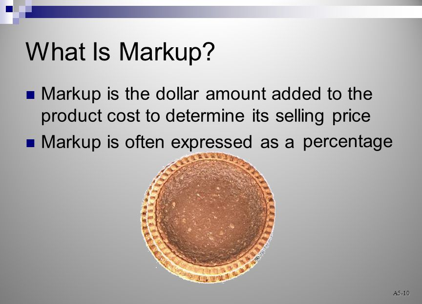 What Is Markup.