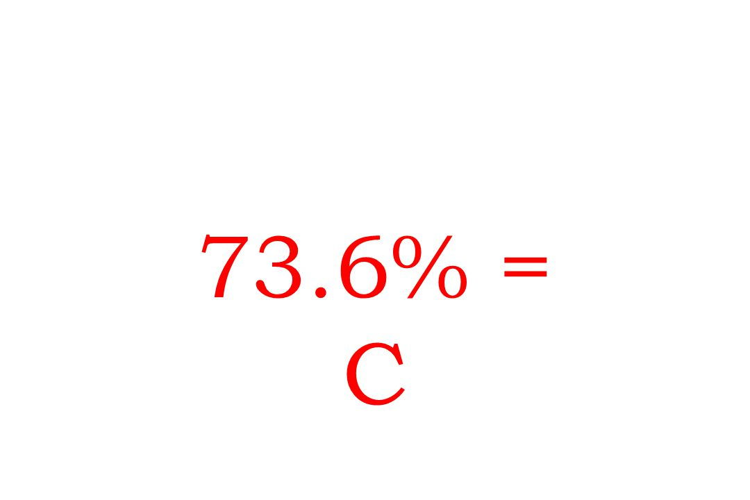 73.6% = C