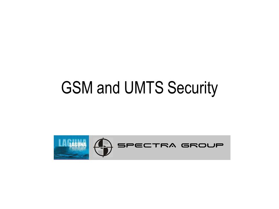 Contents Introduction to mobile telecommunications Second generation systems - GSM security Third generation systems - UMTS security Focus is on security features for network access