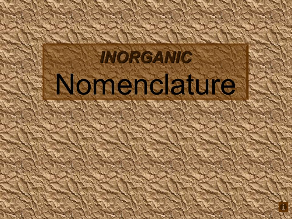Binary Molecular Compounds N 2 Odinitrogen monoxide N 2 O 3 dinitrogen trioxide N 2 O 5 dinitrogen pentoxide ICliodine monochloride ICl 3 iodine trichloride SO 2 sulfur dioxide SO 3 sulfur trioxide