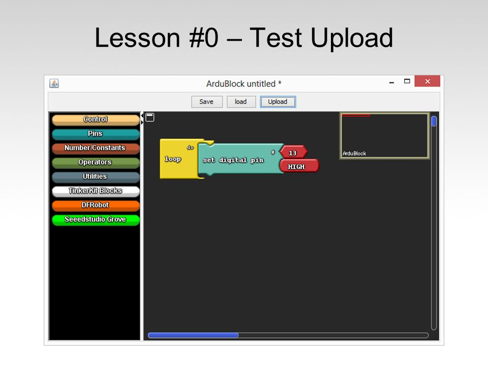 Lesson #0 – Test Upload