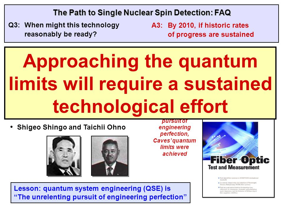 High-level system simulation is central to modern strategic capability Q5:Are we confident that quantum microscopy will work.