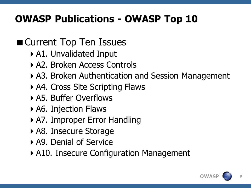 OWASP 30 OWASP Local Chapters  What do we have to offer.