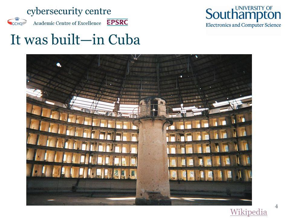 It was built—in Cuba 4 Wikipedia