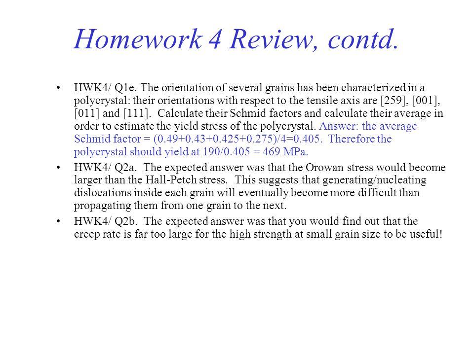 Homework 4 Review, contd.HWK4/ Q1e.