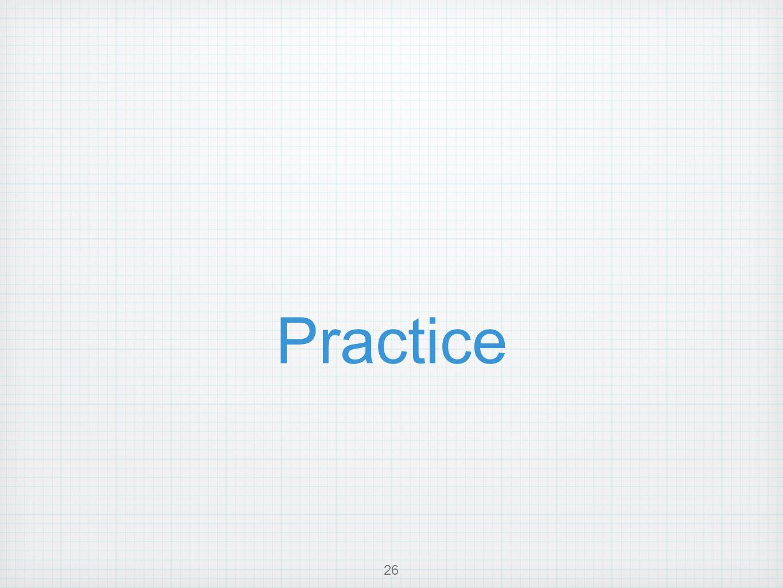 Practice 26