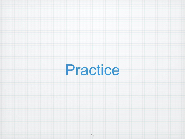 Practice 50