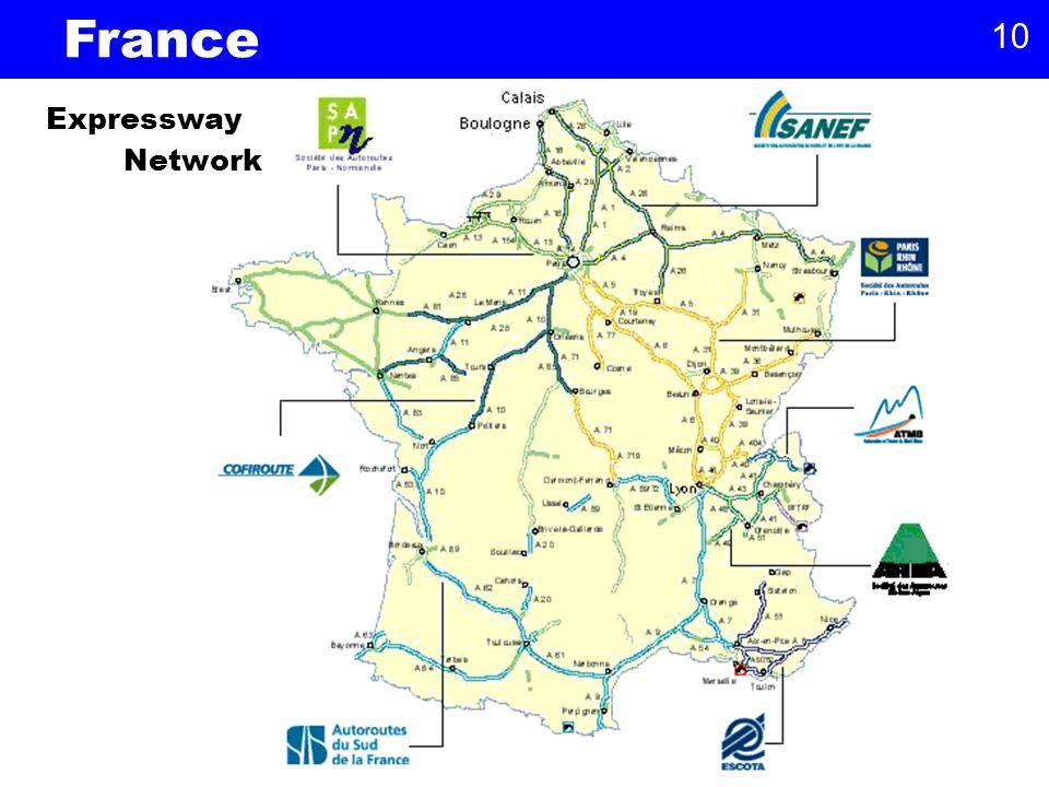 10 Expressway Network France