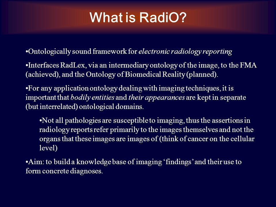 What is RadiO.