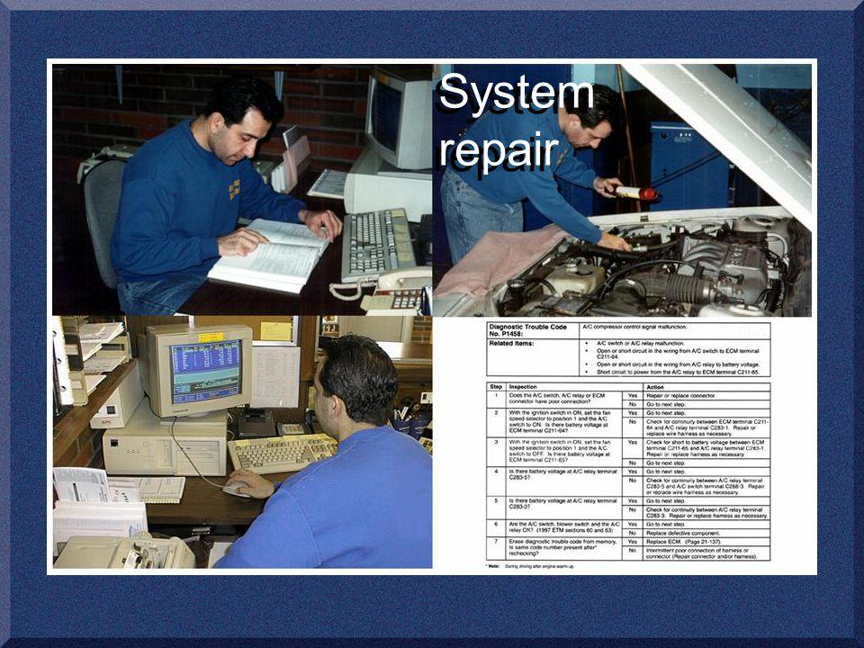 System repair
