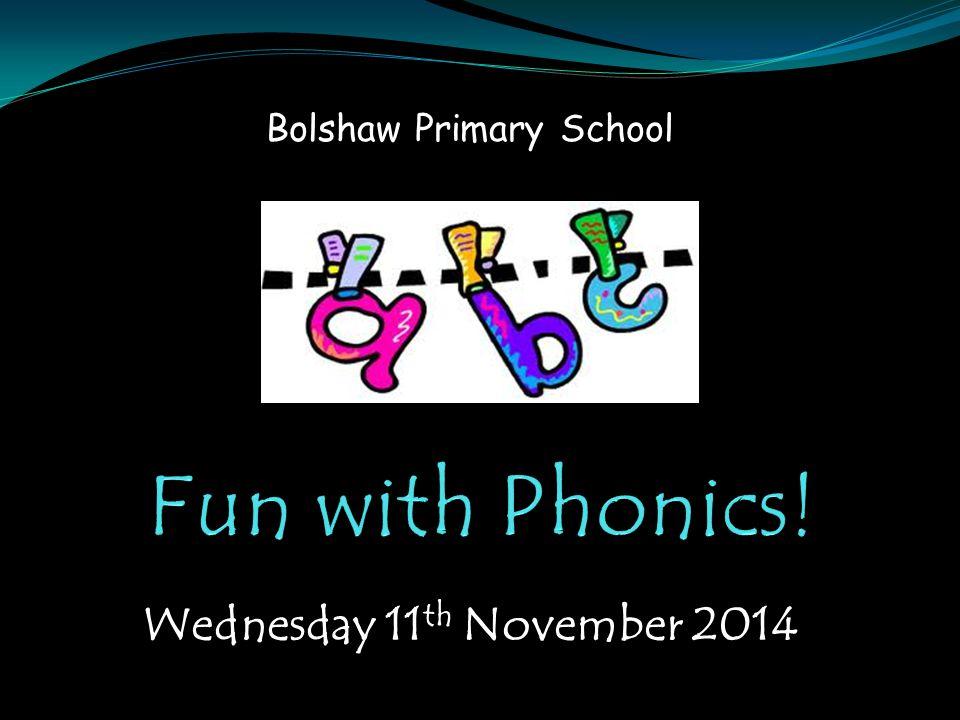 Wednesday 11 th November 2014 Bolshaw Primary School