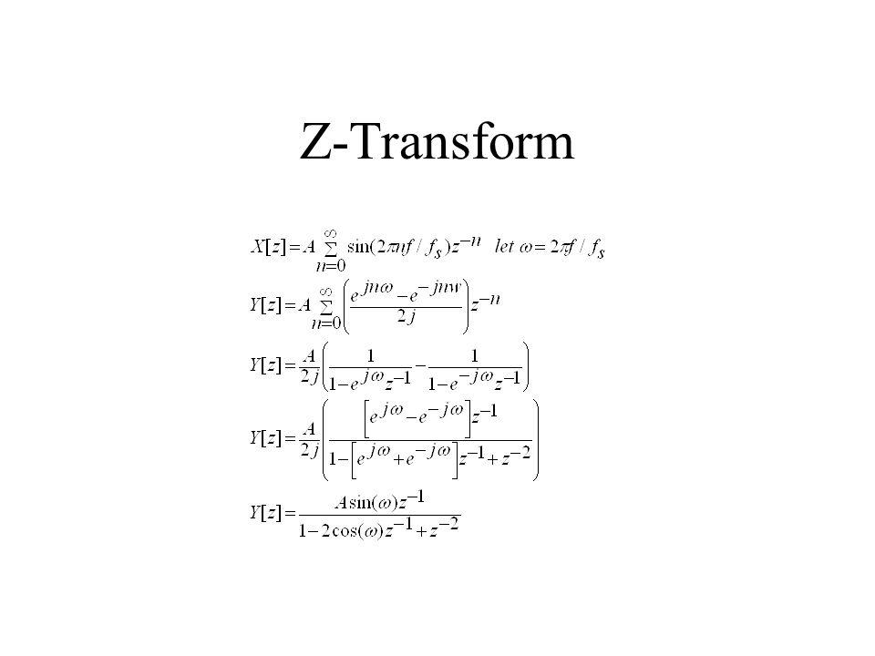 Z-Transform