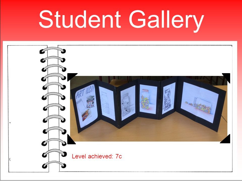 Student Gallery Level achieved: 7c