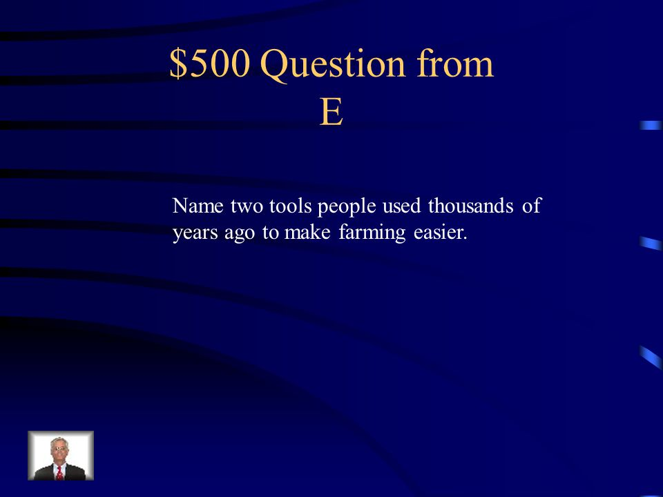 $400 Answer from E Rivers