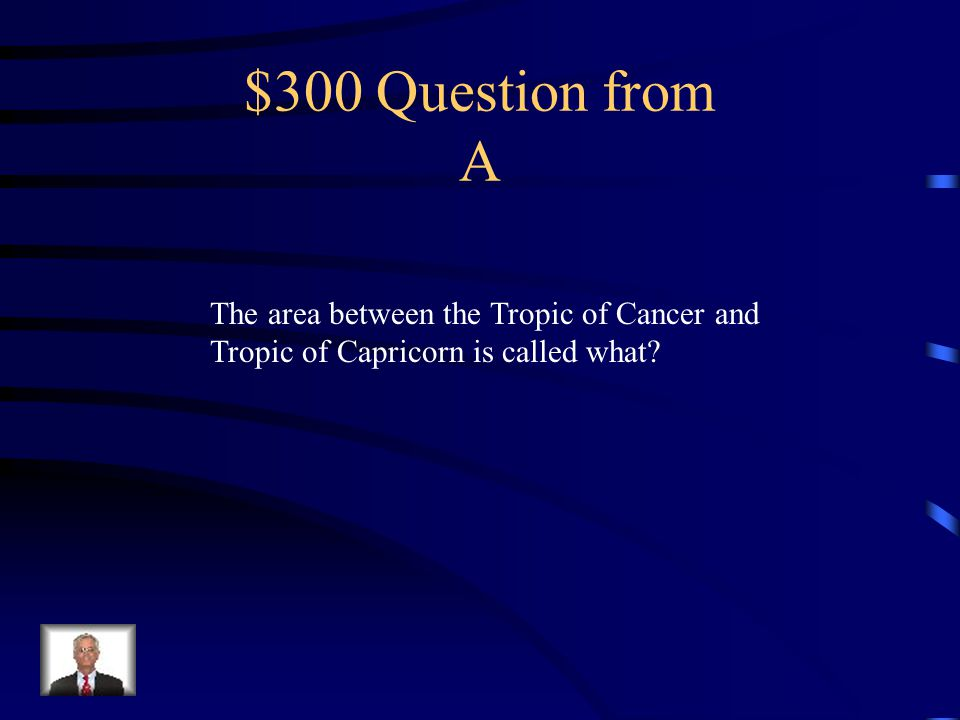 $200 Answer from A The Prime Meridian