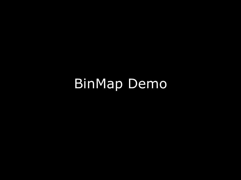 BinMap Demo