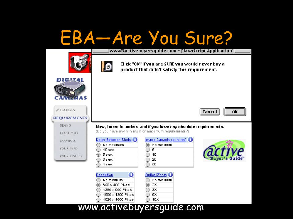 EBA—Are You Sure www.activebuyersguide.com