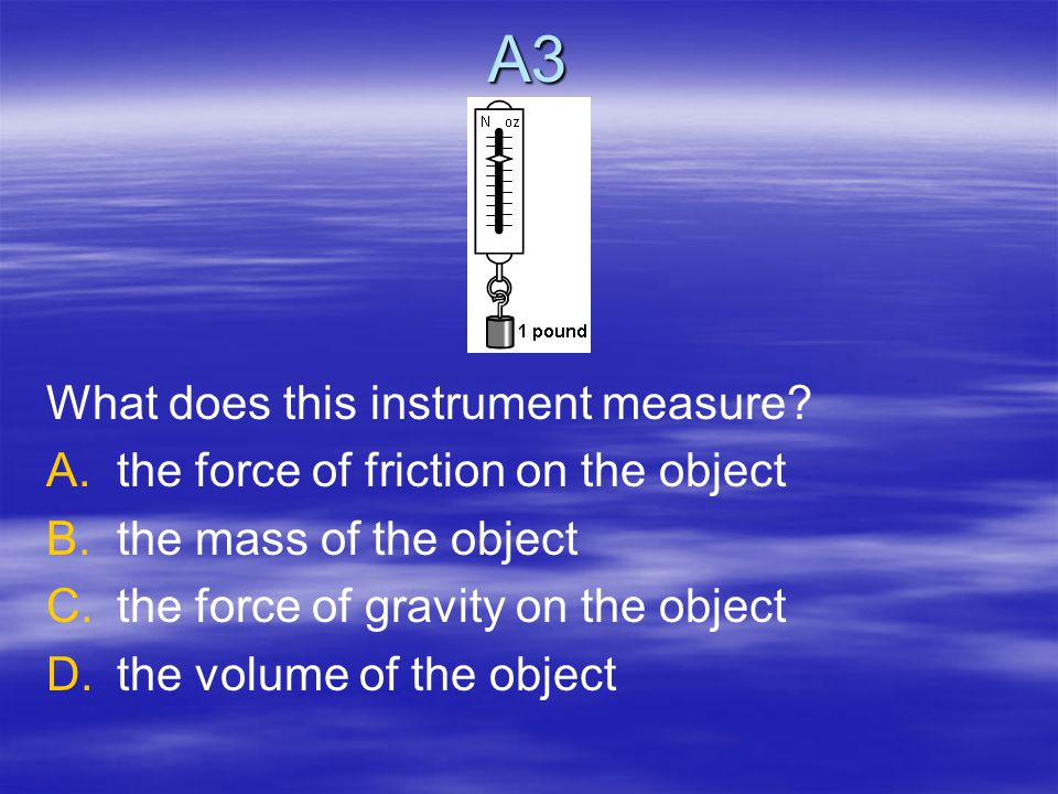 Answer C2 B. Kinetic Energy