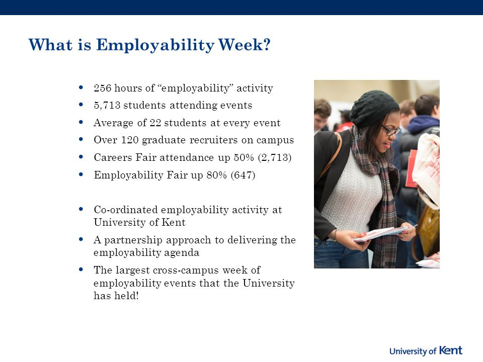 What is Employability Week.