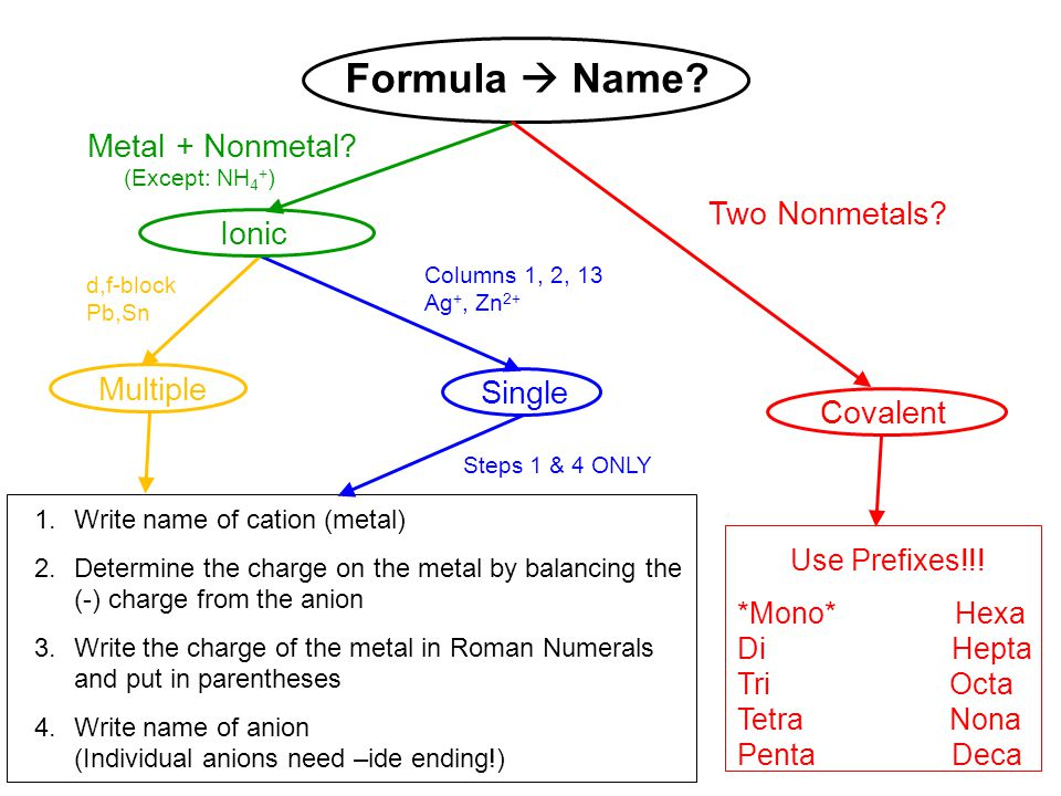 Nomenclature Review Flow Chart