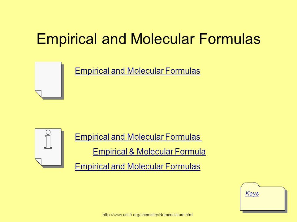 Empirical Formula of a Hydrocarbon CxHyCxHy g H 2 O g CO 2 mol H 2 O mol CO 2 mol C mol H burn in O 2 1 mol CO 2 44.01 g x 1 mol H 2 O 18.02 g x 2 mol