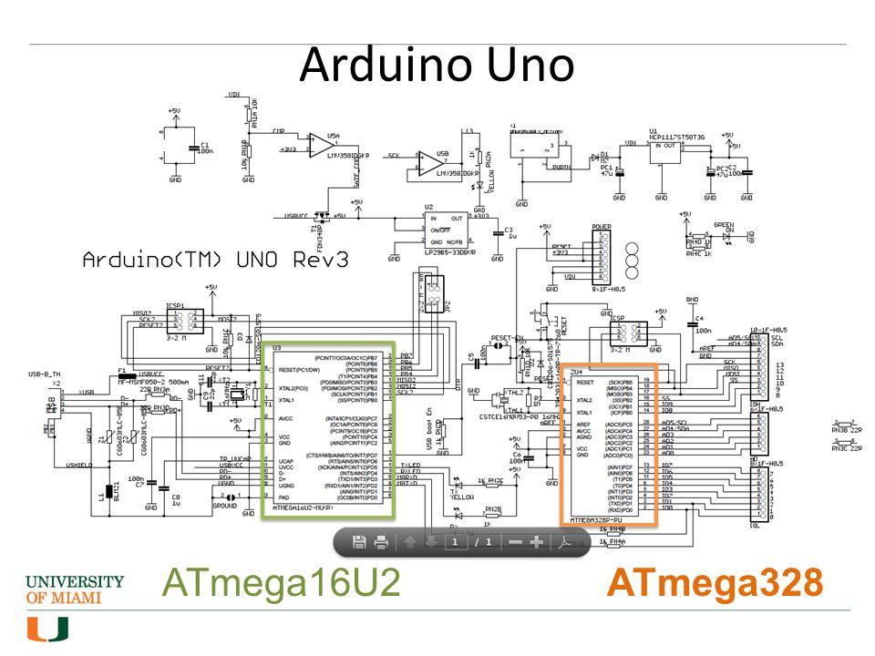 Arduino Uno ATmega328ATmega16U2