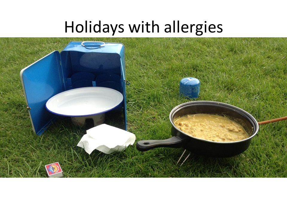 Holidays with allergies