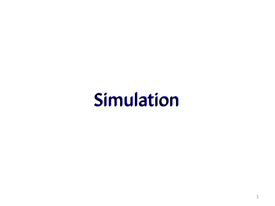 11 Simulation