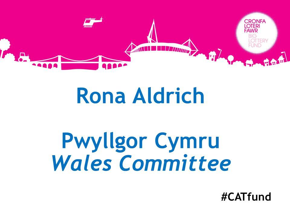 Rona Aldrich Pwyllgor Cymru Wales Committee