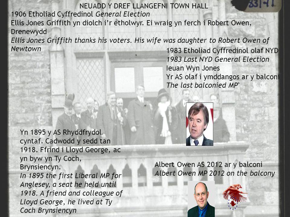 1906 Etholiad Cyffredinol General Election Ellis Jones Griffith yn diolch i'r etholwyr.
