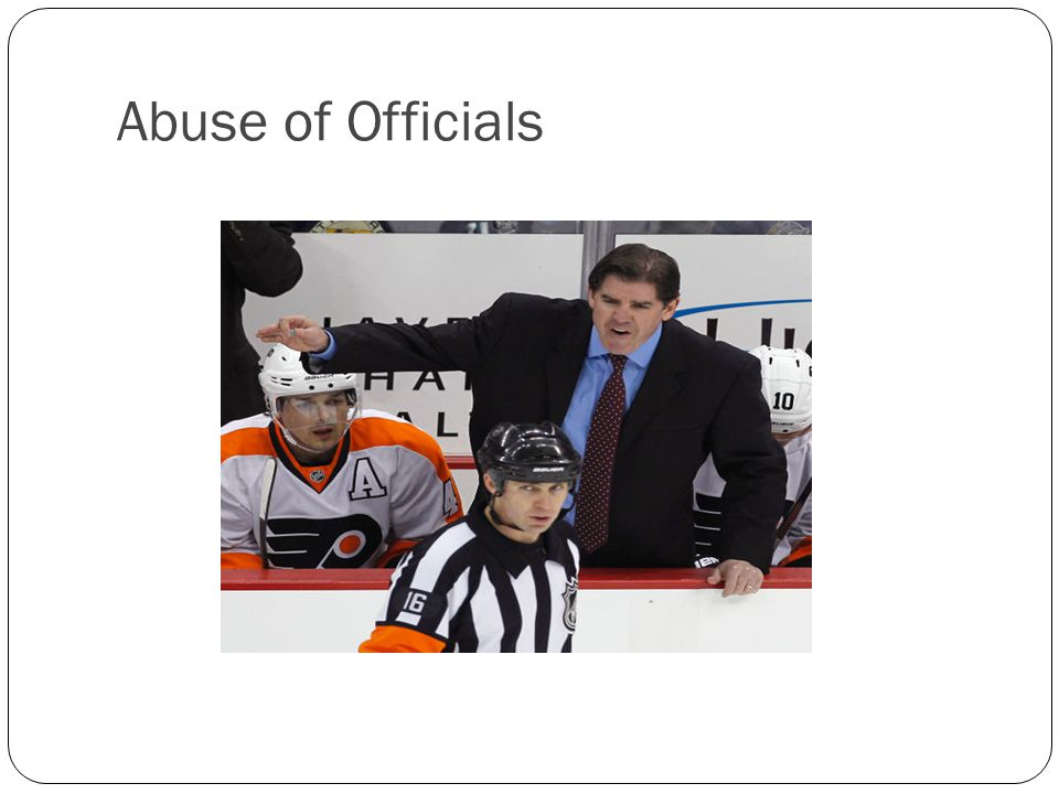 Abuse of Officials