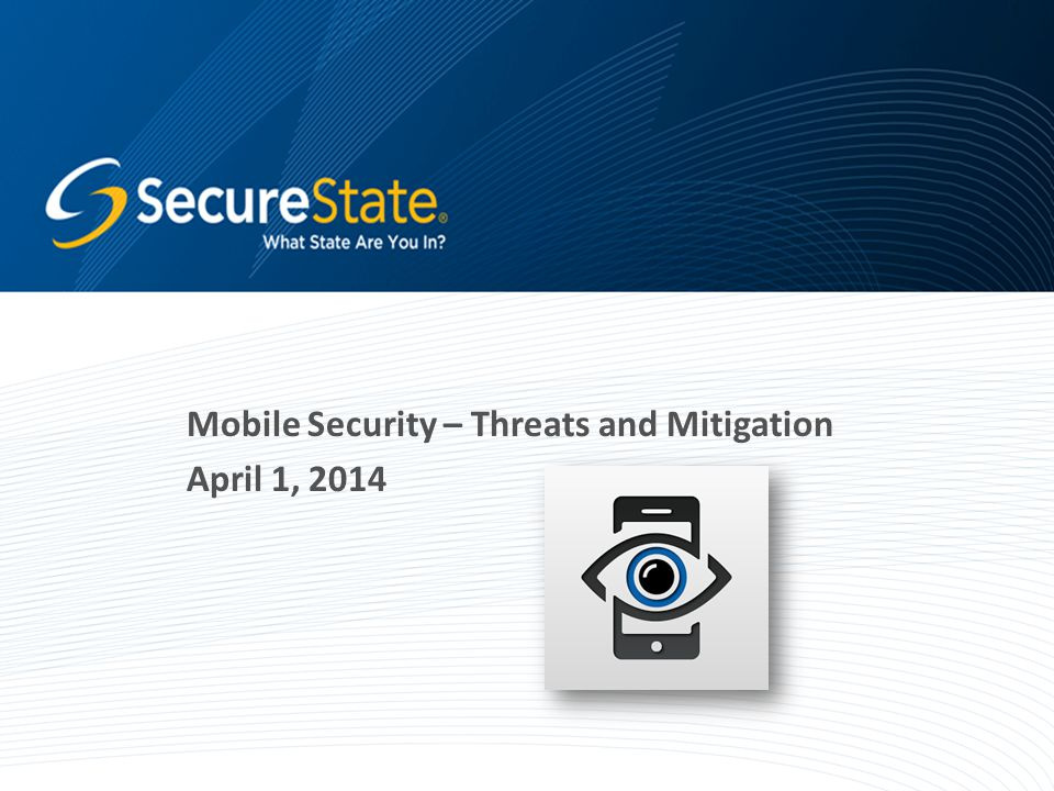 Agenda Introduction What Your Phone Knows and What It Shares The Threats Mitigating the Risks Conclusion Q&A 2