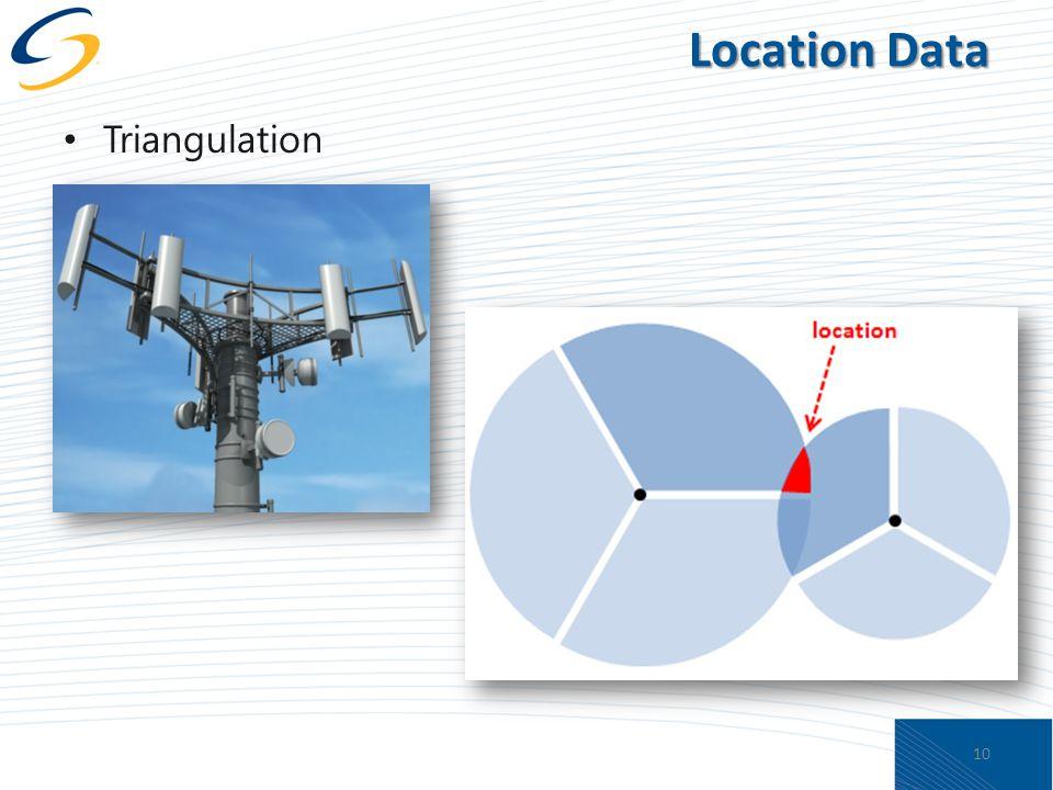 Location Data Triangulation 10