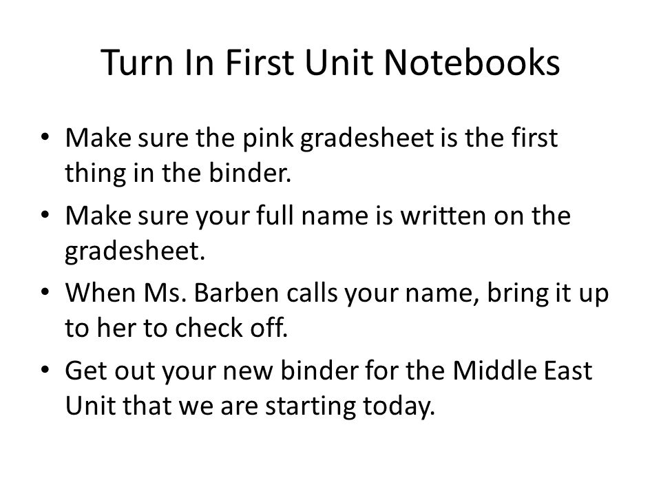 2013 Middle East Geography Lesson Plan Date your papers: Thursday, October 3, 2013 Friday, October 4, 2013 Monday, October 7, 2013 Tuesday, October 8, 2013 Wednesday, October 9, 2013