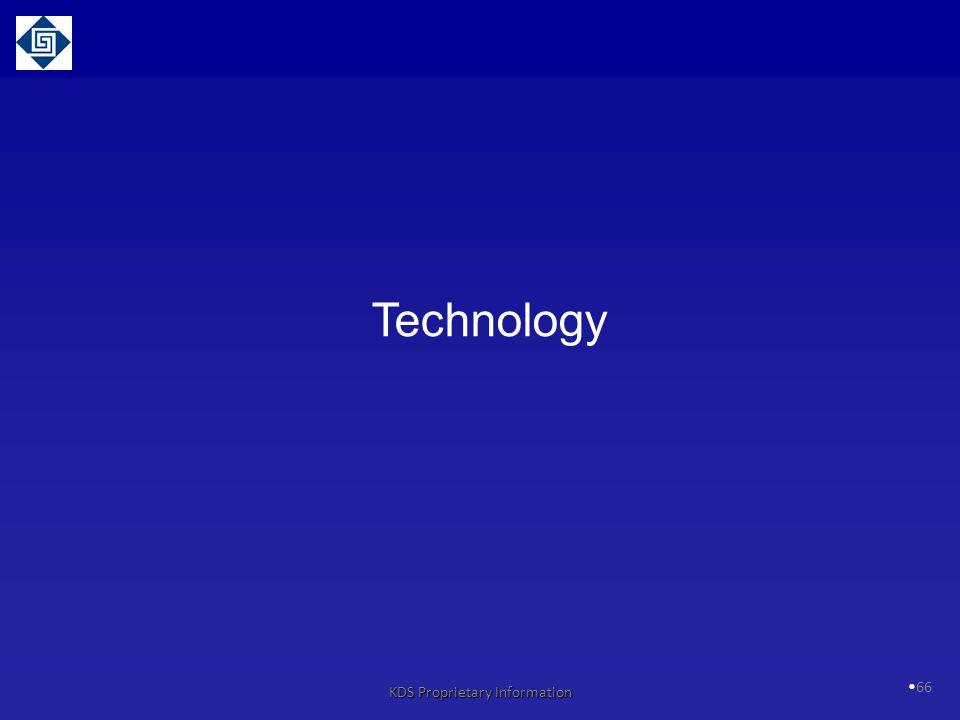 66 Technology KDS Proprietary Information