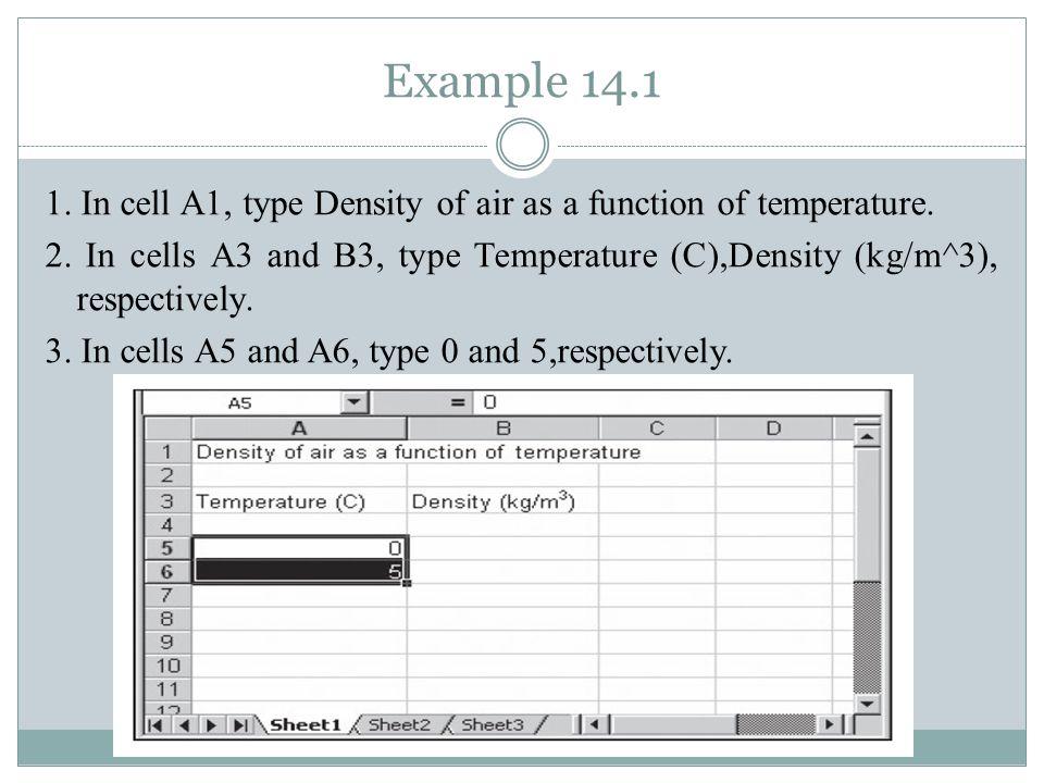 Example 14.1 4.