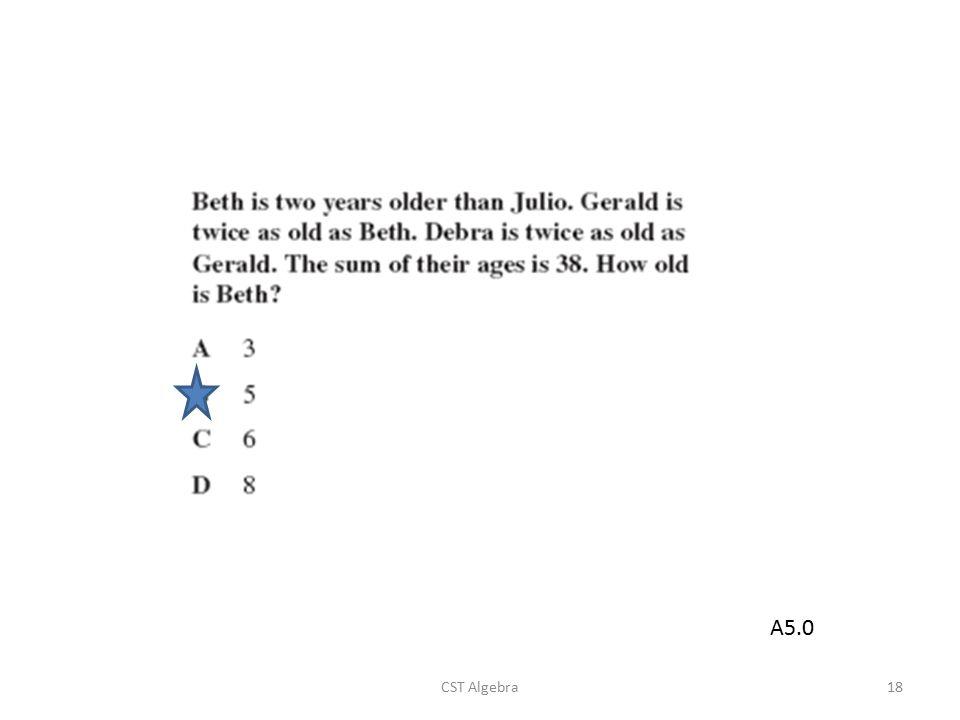 CST Algebra18 A5.0