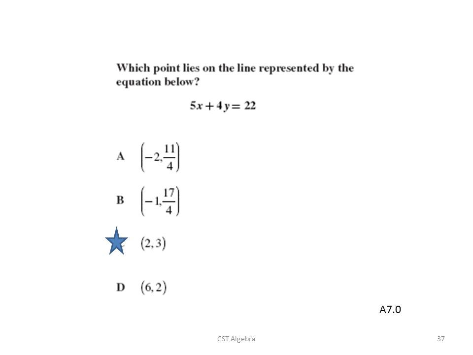 CST Algebra37 A7.0