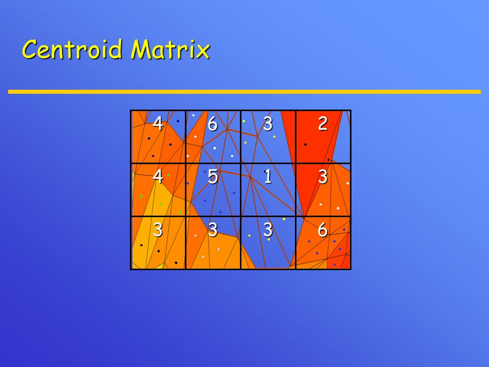 6333 31542364 Centroid Matrix