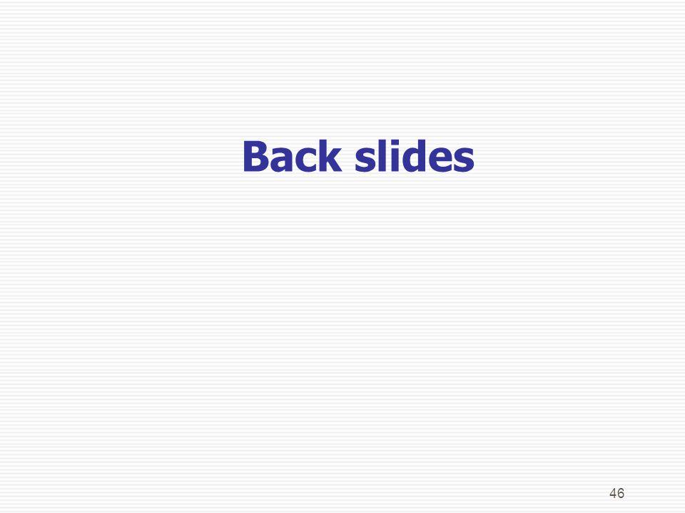 46 Back slides