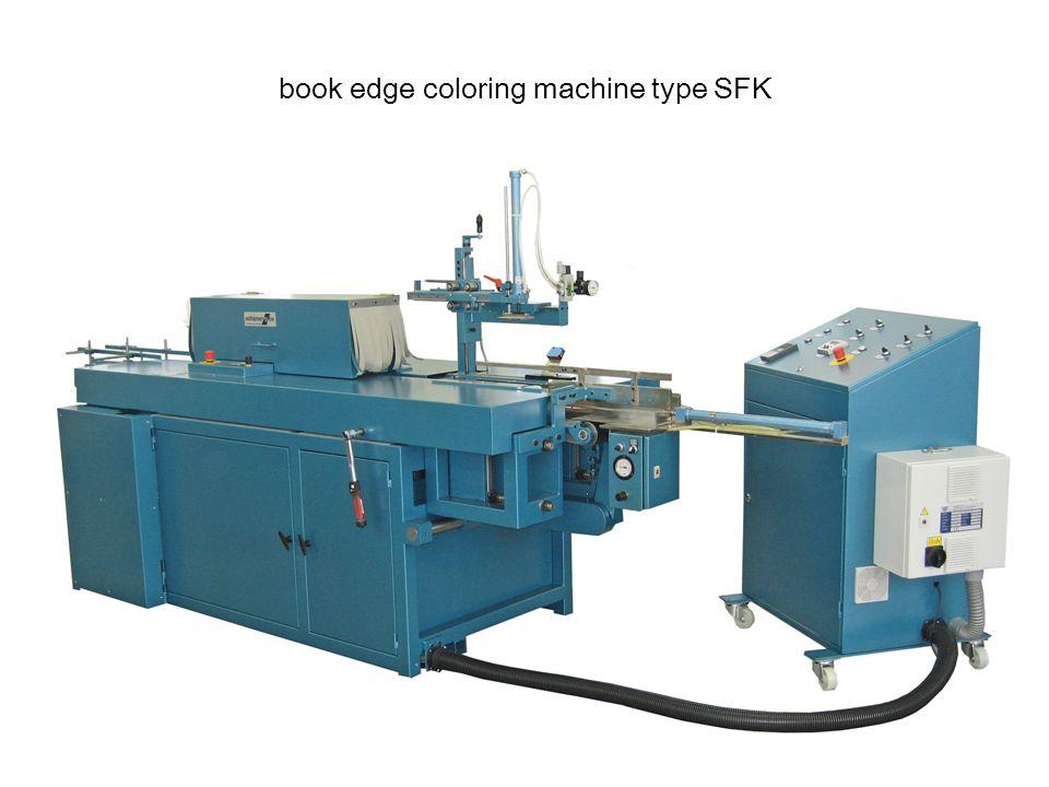 book edge coloring machine type SFK
